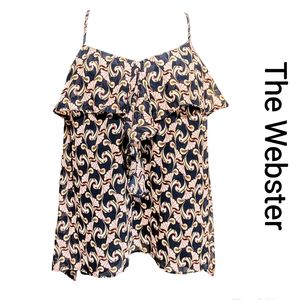 THE WEBSTER sleeveless blouse (X-LARGE)